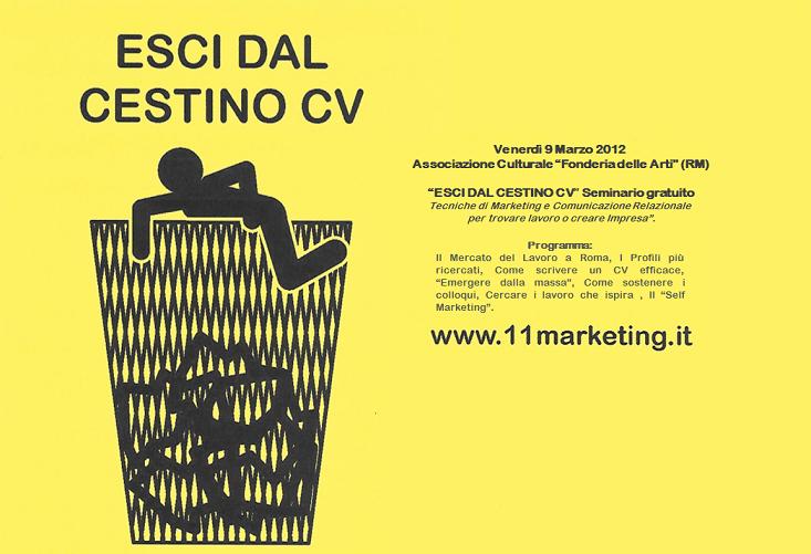 lavoro marketing roma