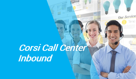 corsi call center inbound roma