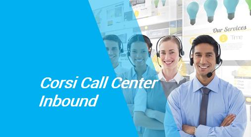corsi call center inbound roma