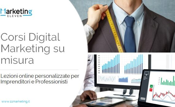 Corsi Digital Marketing su misura