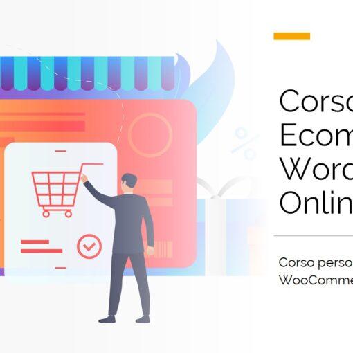 corso online creazione siti ecommerce