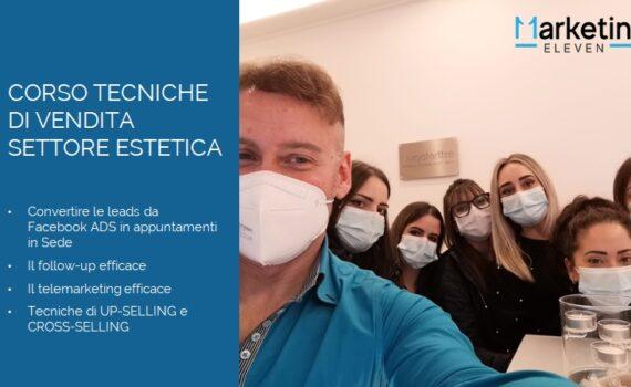 Tecniche di Vendita Centro Estetico: Corso Estetic - Laboratorio di bellezza